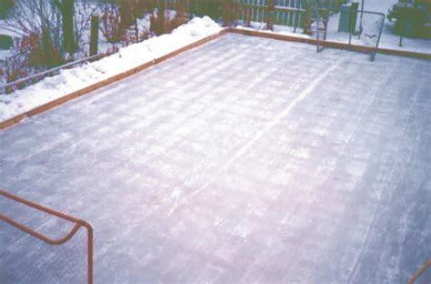 backyard ice rink plans backyard ice rink flooding outdoor furniture design and