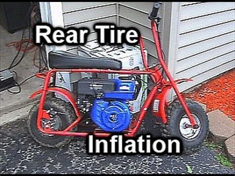 doodlebug hydraulic brake how to inflate a doodle bug rear tire without removing the