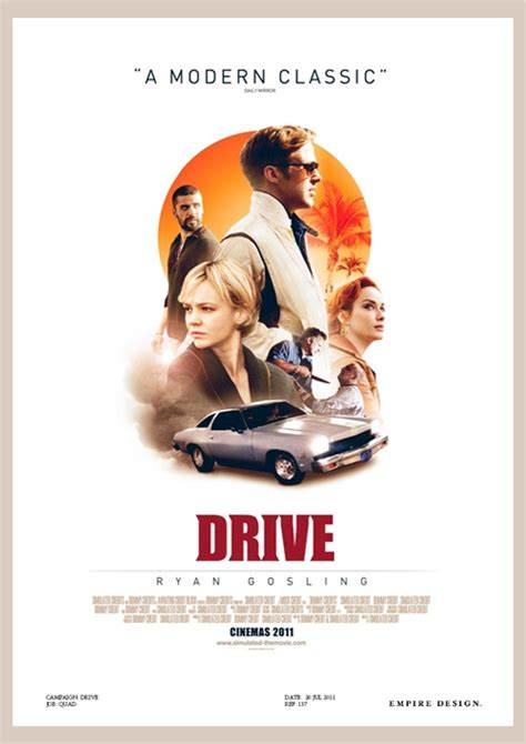 drive poster drive 2011 movie poster designs thekevinchen
