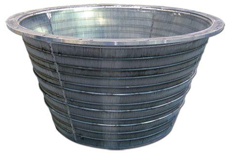 screen baskets wedge wire screen baskets stainless steel profile screen baskets baskets industrial