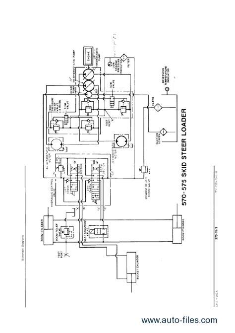 deere 260 skid steer alternator wiring diagram