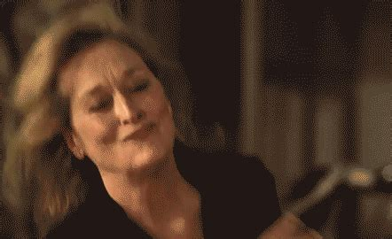 gif images happy meryl streep gif find on giphy