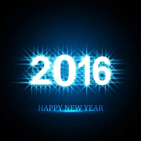 new year 2016 vector free glowing new year 2016 greeting vector free