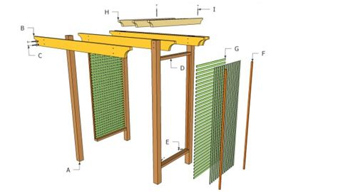 free trellis plans free arbor plans myoutdoorplans free woodworking plans