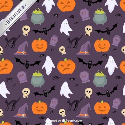 halloween pattern tumblr cute halloween pattern vector premium download