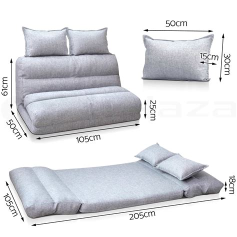 lounge sofa bed size floor recliner folding sc 1