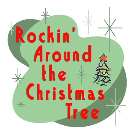 rockin around the christmas tree clipart 17