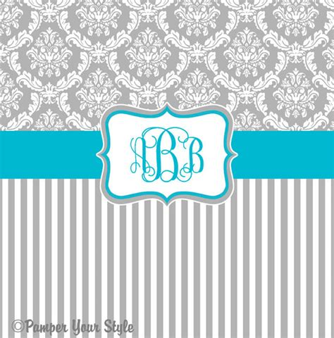 Gray And Turquoise Curtains Damask And Stripe Gray And Turquoise Shower Curtain Any
