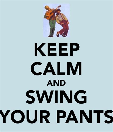 swing your keep calm and swing your poster keep calm o matic