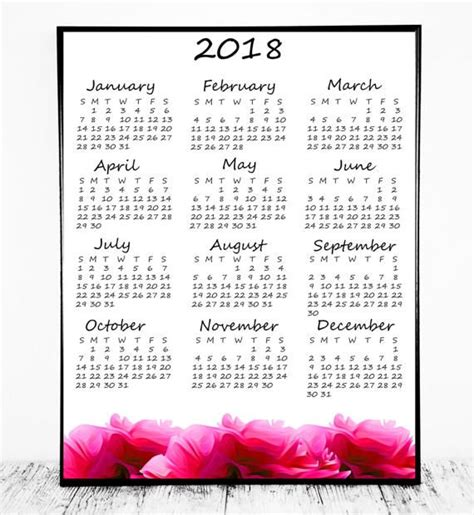 Mali Calend 2018 379 Best Calendars Planners2018 Images On