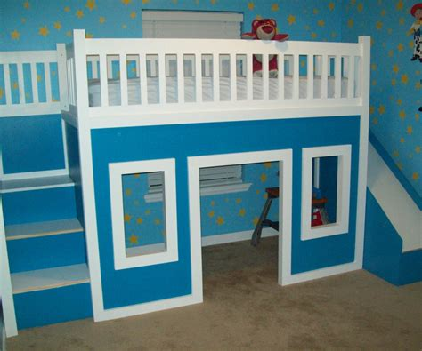 Ikea Bunk Beds With Stairs Ikea Beds In Idyllic Bunkbeds With Malm Toddler Bed Inspired Bunk Ikea Hackers