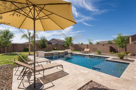best modern pool phoenix by california pools
