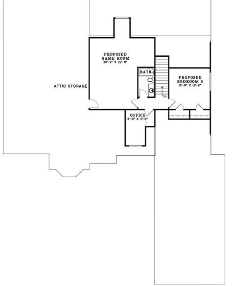 5 Bedroom House Plans With Bonus Room 3 4 Or 5 Bedroom House Plan 59567nd Traditional 1st Floor Master Suite Bonus Room Butler
