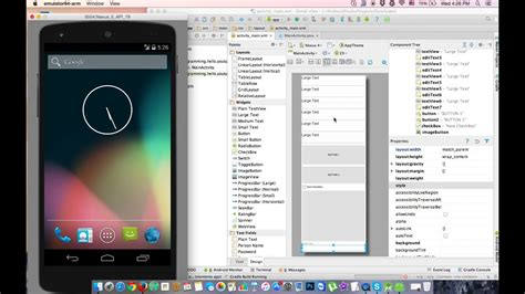 android tutorial bangla bangla android tutorial 23 scrollview in android studio