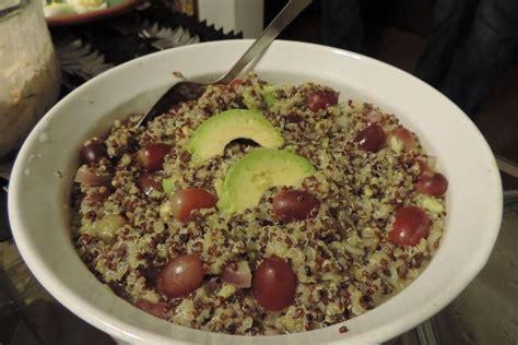 tri color quinoa peruvian tri color quinoa salad recipe on food52