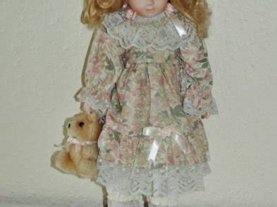 the porcelain doll limerick porcelain doll with teddy for sale in knocklong
