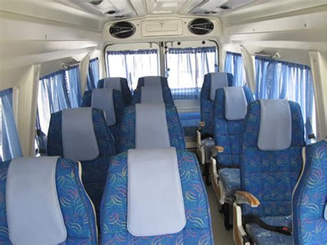 Tempo Interiors by 12 Seater Tempo Traveller On Rent In Delhi Tempo