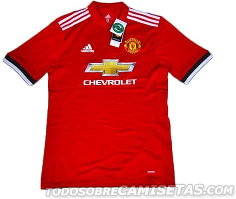 Jersey Leaked Mu by Manchester United S Home Jersey For The 2017 2018 Season