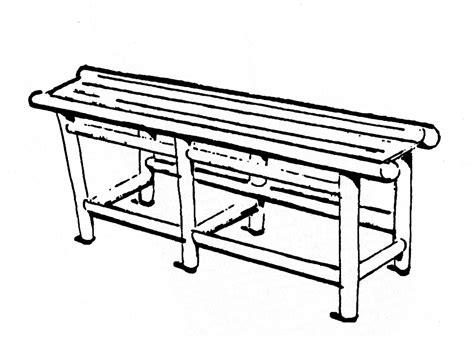 bench court supplies oval tennis