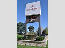 Wisconsin Mid-Century Modern Banks | RoadsideArchitecture.com First Premier Bank Wisconsin