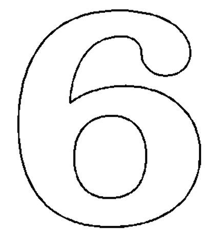 number pattern clipart number 6 cliparts co