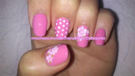 tutorial nail art elegant pink roses nail art elegant romantic nail art tutorial
