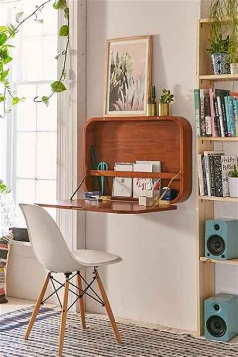 desk attached to wall 20 hideaway desk ideas to save your space shelterness
