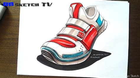 Industrial Vaccum Cleaner 온스케치 Tv Product Sketch Quot Sneakers Design Sketch Color