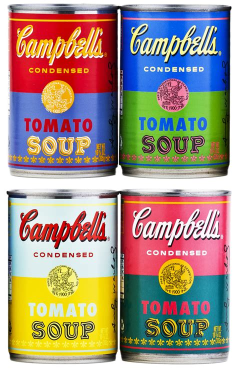 Home Painting Design Tips by Campbell S Releases Soup Cans Featuring Andy Warhol S Pop Art