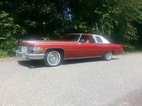 1975 Cadillac For Sale 1975 Cadillac Coupe For Sale Ludlow Massachusetts