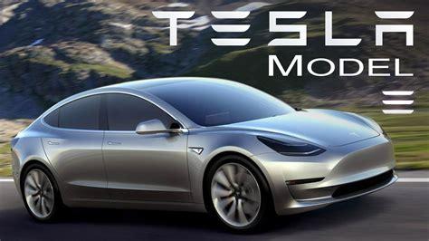 Carro Tesla Tesla Model 3 El Coche El 233 Ctrico Revolucionario Informe