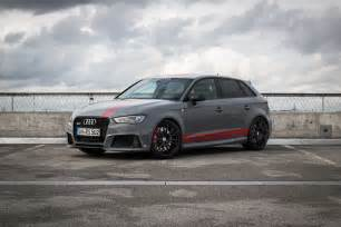 audi rs3 dialed up to 502hp by mtm because power is never enough