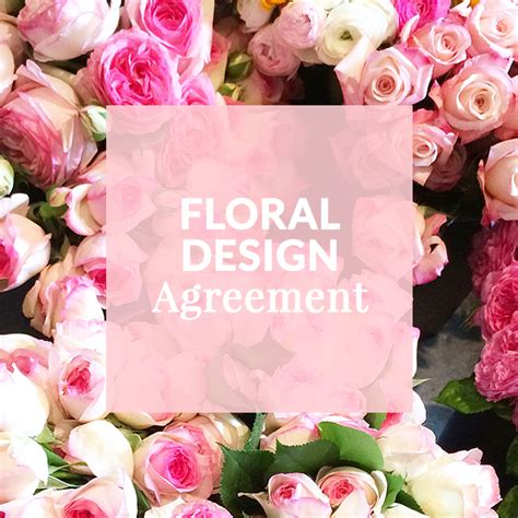 wedding florist contract template floral design template contract wedding florist flower