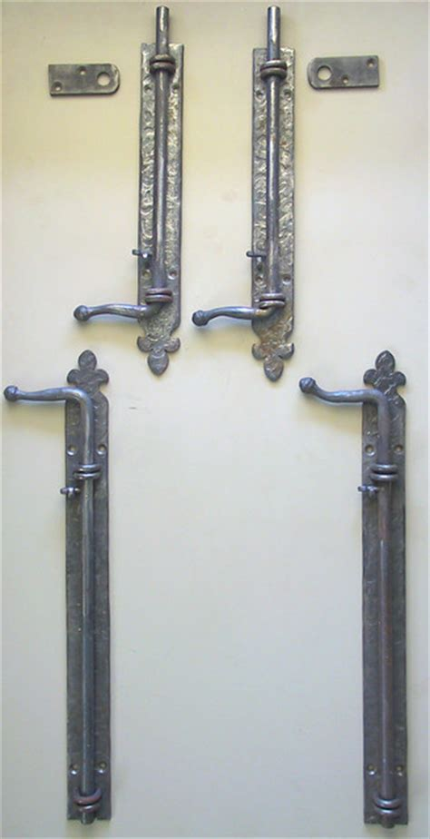 front door bolts wrought iron bolts rustic front doors