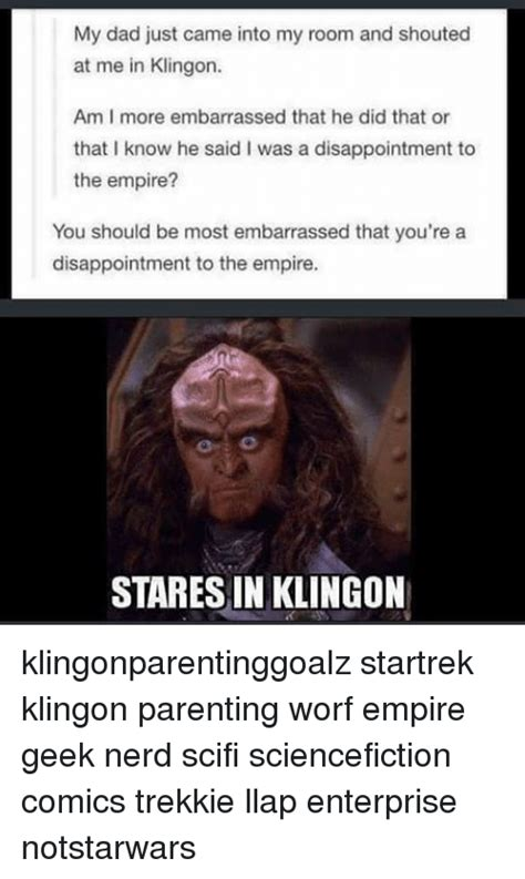 my came in me 25 best memes about worf worf memes
