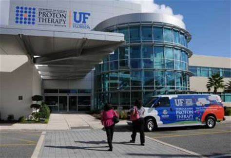 Uf Proton Therapy Institute by 39 Million Expansion Begins For Univeristy Of Florida