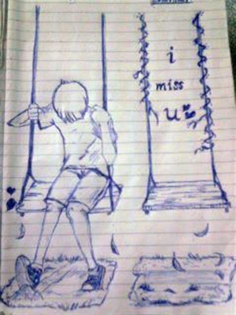 Miss U Drawing by I Miss U Sad Songs Photo 30742797 Fanpop
