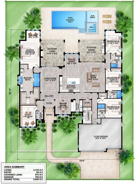 plans maison en photos 2018 split bedroom florida house