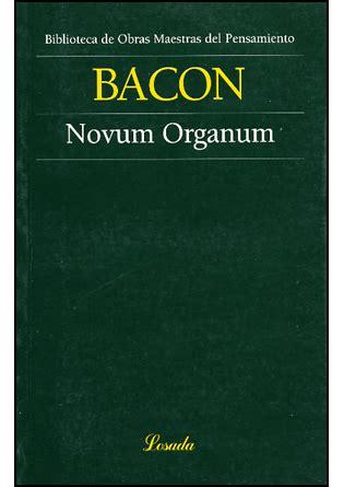 novum organum francis bacon freelibros