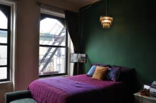 Dark Bedroom Colors - sofas as art original exquisite amp envy inducing vintage bohemian purple walls and green