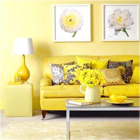 yellow interior cheerful and bright interior design using shades of yellow