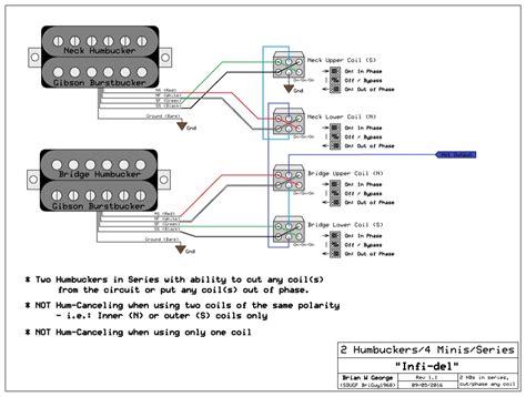 gibson burstbucker wiring diagram free picture wiring