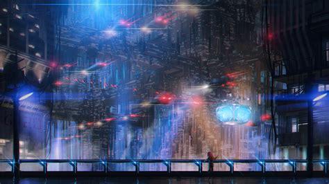 cyberpunk hd wallpaper background image  id