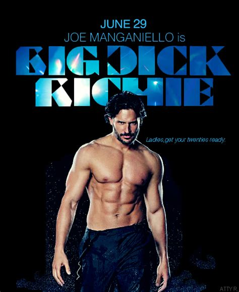 joe manganiello is big dick joe manganiello in magic mike the wait is over the