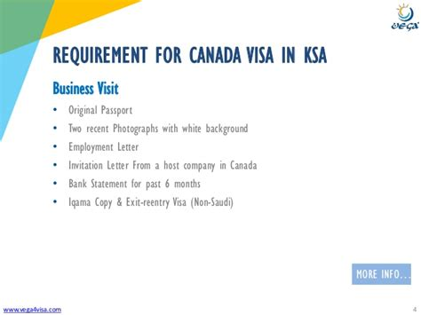 Mba Schools In Canada Requirements by Visa Requirements Saudi Arabia To Canada Business