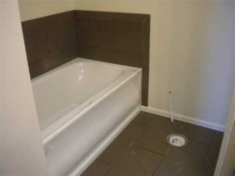 installing tile around a bathtub home how to install tile around a jet tub bathroom tile