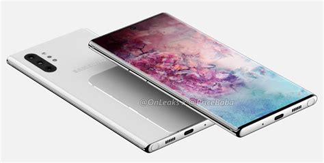 Samsung Galaxy Note 10 Reveal by Samsung Galaxy Note 10 Pro Renders Reveal Screen And No Headphone Mnnofa News