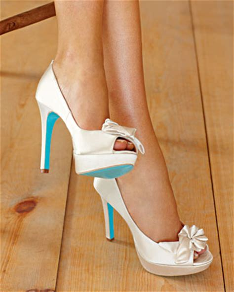 Wedding Shoes With Blue Soles white wedding shoes with blue soles are trend in