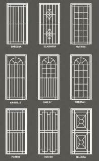 Secure House Windows Decorating Security Screen Doors Security Screen Door Designs