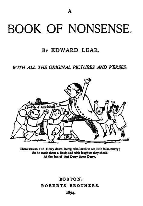 Nonsense Books by Edward Lear, 1894
